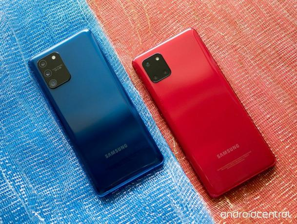 Samsung Galaxy S10 Lite vs. Galaxy Note 10 Lite