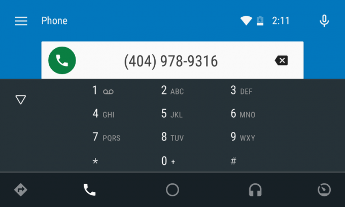 Android Auto Phone App