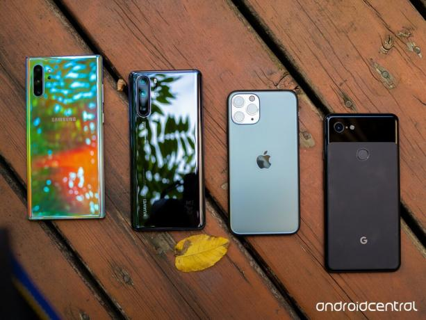 Galaxy Note 10, P30 pro, iPhone 11 Pro ve Pixel 3