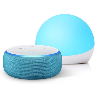 Amazon Echo Dot Kids Edition in Echo Glow