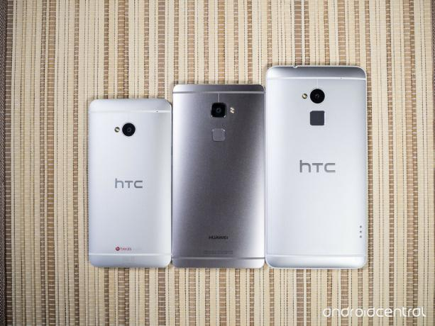 HTC One M7, Huawei Mate S ve HTC One Max