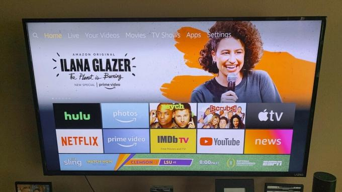 Fire TV ana ekranı