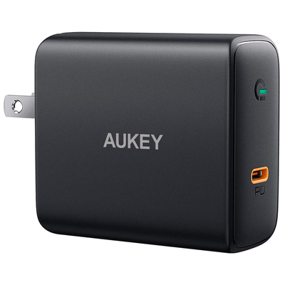 Aukey 60W Power Delivery 3.0 USB-C zidni punjač
