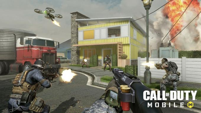 Nuketown в Call of Duty: Mobile