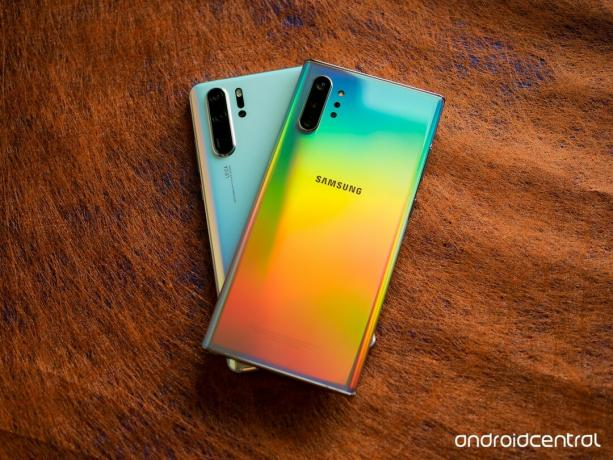 Samsung Galaxy Note 10+ vs. Huawei P30 Pro